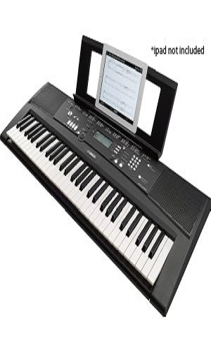 yamaha ez 220 home keyboard with guide lights. Black Bedroom Furniture Sets. Home Design Ideas